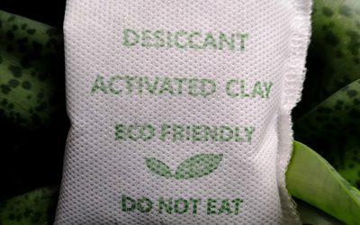 ดินดูดความชื้น Activated Clay บรรจุซองผ้าสปันบอนด์