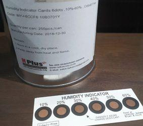 แผ่นวัดความชื้น (Humidity Indicator Card)